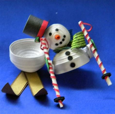 How To Make A 3d Snowman Out Of Paper - 17 best images about quilled figures on