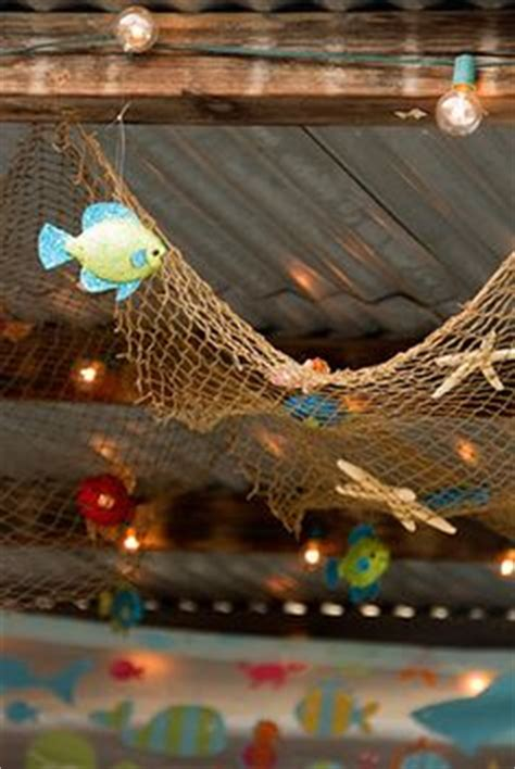 Fish Net Decoration Ideas by On The Sea Themes And