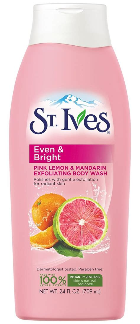 St Ives Even And Bright Pink Lemon And Mandarin Orange Wash 24oz st ives even bright pink lemon mandarin orange wash reviews in wash chickadvisor