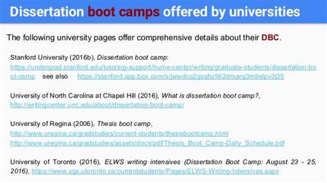 dissertation boot c of toronto thesis