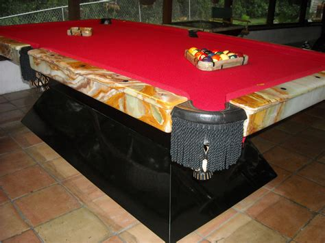 tiger marble pool table generation billiards