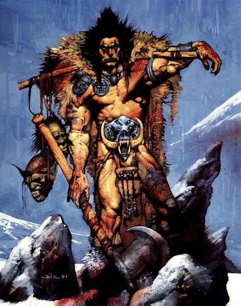 Barbarian warrior Barbarians Pinterest