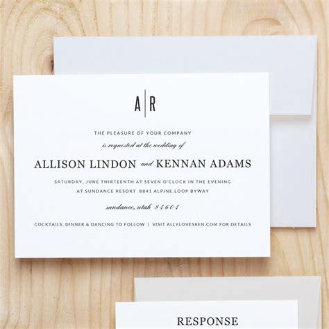 wedding invitation artwork instant printable wedding invitation template
