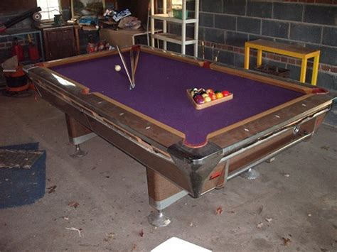 fischer empire viii pool table value