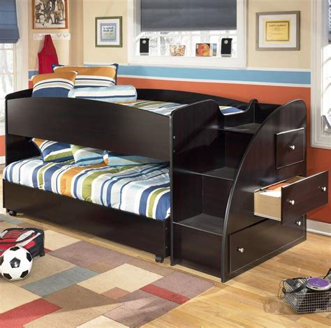 embrace loft bedroom set signature design by ashley embrace twin loft bed with
