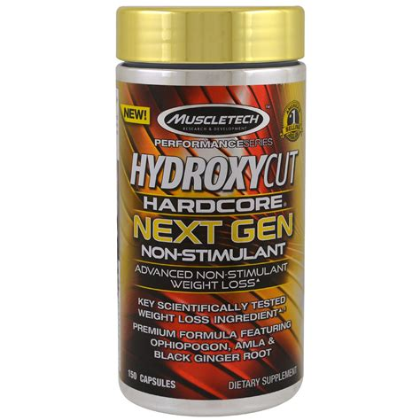 Best Supplement For Fitness Muscletech Hydroxycut Next Non Stimul 1 hydroxycut performance series hydroxycut next non stimulant 150 capsules iherb