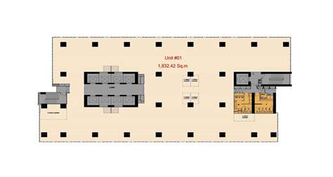 High Rise Floor Plans by Floor Plan Grade A Office In Junction City Yangon Myanmar