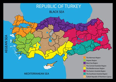 turkey vector map vector map of turkey country royalty free stock photos