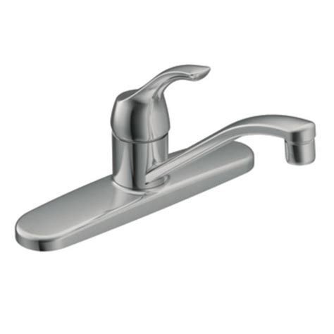 moen single lever kitchen faucet moen ca87526 adler single handle low arc kitchen faucet