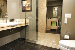 the tile shop design by kirsty bath crashers quot open and wheelchair accessible bathroom remodel beyond the screen