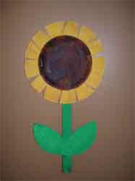 Paper Plate Sunflower Craft - paper plate sunflower this pr