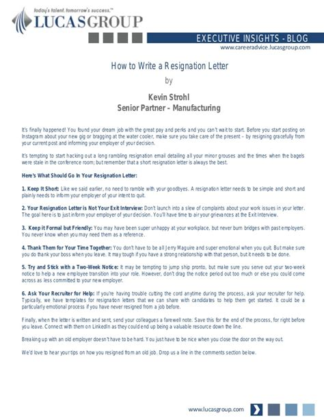 simple resignation letter how to write a resignation letter 1627
