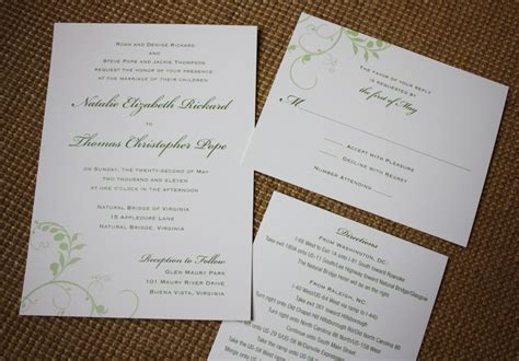 how to make a simple wedding invitation card simple make your own wedding invitations yaseen for