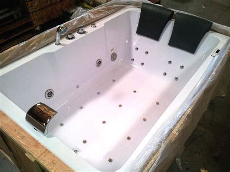 Shower Bath Whirlpool 2 person indoor whirlpool jetted hot tub spa hydrotherapy