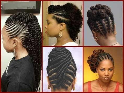 Roll Hairstyles For Black 2016 by Top 20 Flat Twist Hairstyles On Hair