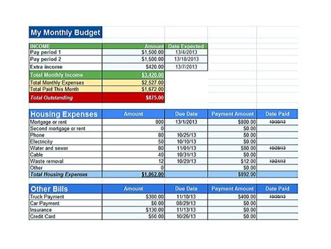 Cool Budget Template Google You Definitely Have To Use Today Budget Document Template