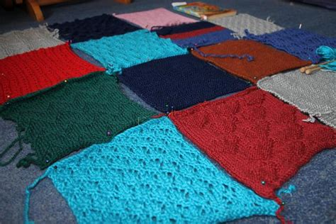 Patchwork Blanket Knitting Pattern - knitting patterns baby blanket patchwork images