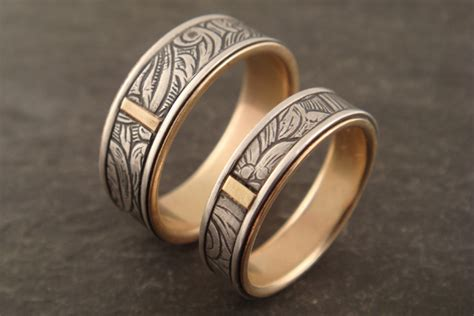Unique Handmade Wedding Rings - to the wire for unique handmade wedding rings