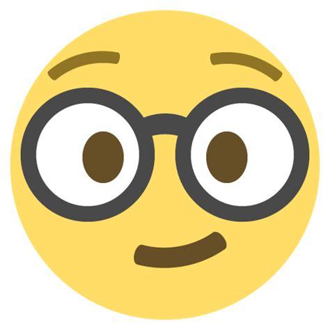 emoji vector nerd face emoji emoticon vector icon free download