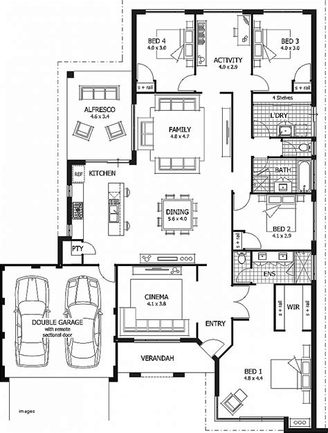 4 bedroom beach house plans house plan elegant 4br 3 bath house pla hirota oboe com