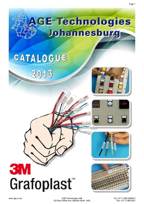 Principles Of Kitchen Design 3m grafoplast wire marking systems catalogue 2014