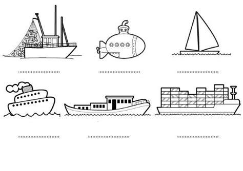 tipos de barcos para colorear barcos dibujos para colorear e imprimir