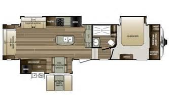 keystone cougar fifth wheel floor plans 2017 keystone cougar 327rlk floor plan 5th wheel