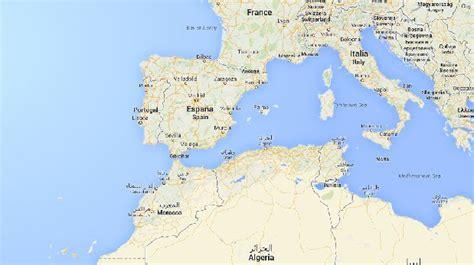 espana y africa mapa 191 c 243 mo espa 241 a y marruecos tienen frontera si el mar los