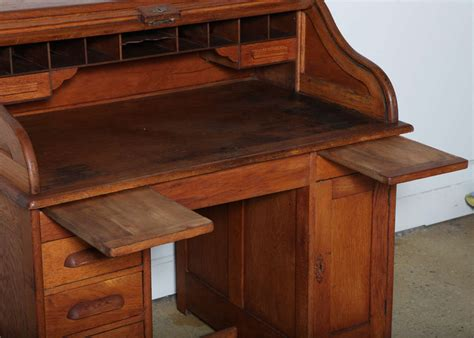 roll top desk lock victor safe and lock oak roll top desk at 1stdibs