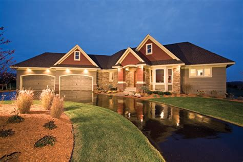 Luxury House Plans With Walkout Basement by Vincennes Place Craftsman Home Plan 091s 0002 House