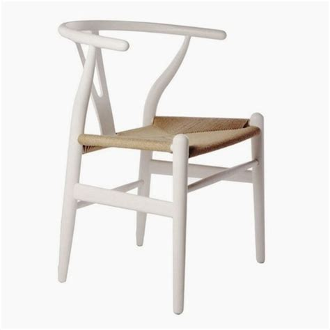 y chair white contemorary wood dining desk chair woven seat