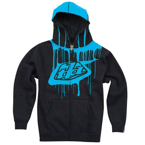 design logo hoodie 2013 troy lee designs mens tld shield logo paint drip