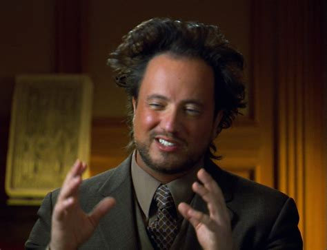 History Channel Aliens Guy Meme - assassin s creed and ancient aliens gamingrebellion