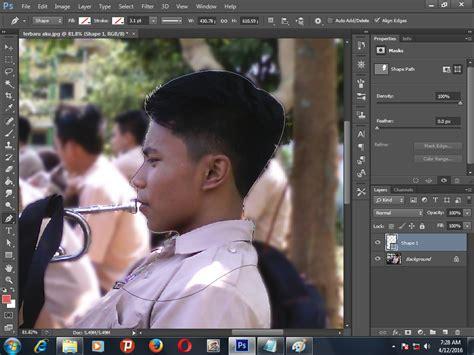 tutorial gambar digital tutorial siluet digital dengan photoshop belajar bersama