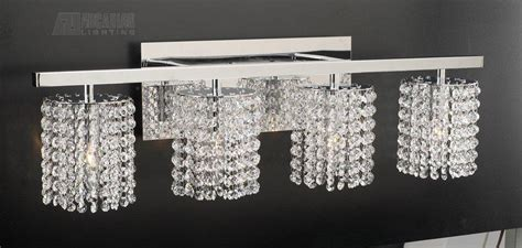 crystal lights for bathroom crystal bath vanity light modern bathroom lighting and