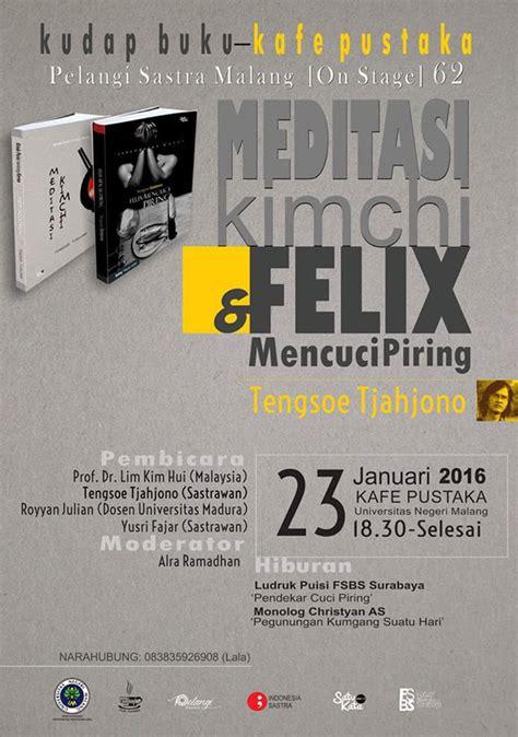 Buku Novel Benang Merah indonesia sastra tengsoe
