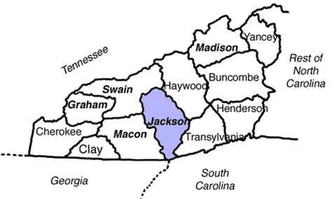 Jackson County Nc Records Wnc Genealogy Jackson County Publications