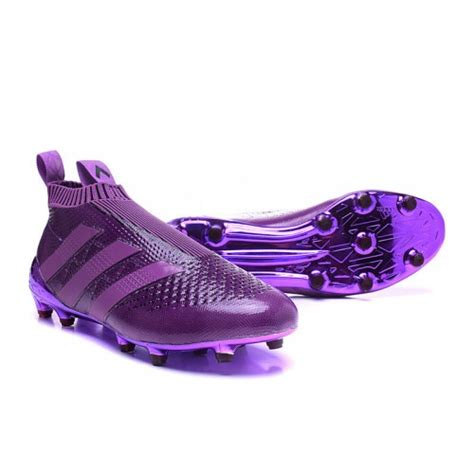 purple football shoes high quality 2016 adidas ace 16 purecontrol fg ag soccer