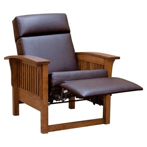 reclining morris chair 37 quot mission morris chair recliner slmi851l1