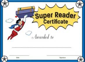reading certificate templates reader certificate for boys reward your students