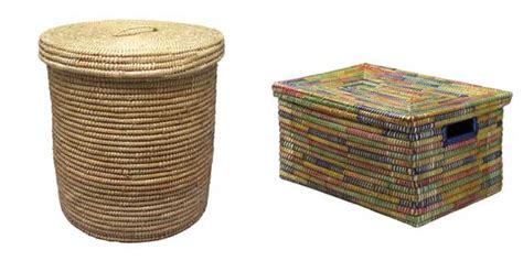 large basket for storing throw pillows reduce clutter with fair trade storage baskets