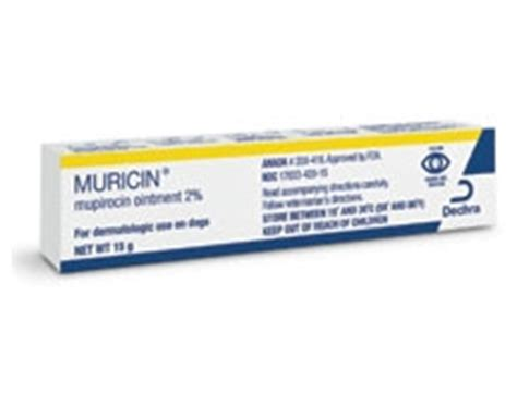 mupirocin for dogs muricin ointment l antibacterial ointment for dogs medi vet