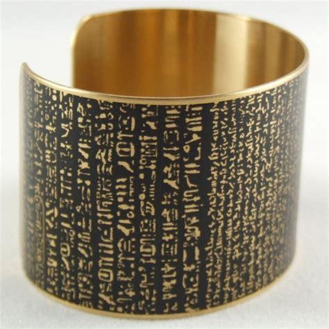 rosetta stone gift rosetta stone cuff bracelet ancient literature