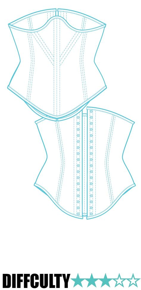 sewing pattern underbust corset 259 best images about corsets on pinterest steam punk