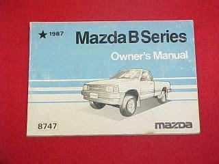 online auto repair manual 1987 mazda b series user handbook best rated midsize pickup truck html autos post