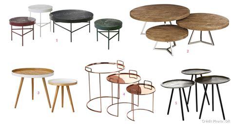 Table Basse Ronde Gigogne 1576 by 20 Tables Basses Gigognes 224 Partir De 59 99 Maison Cr 233 Ative