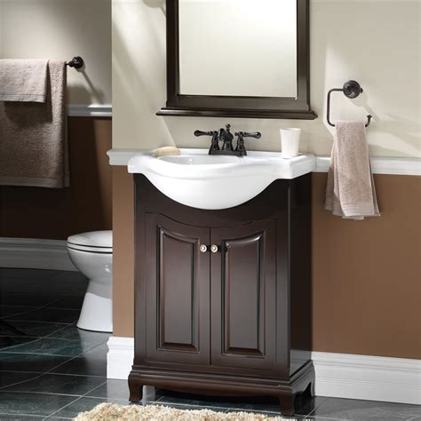 euro bathroom vanity palermo 26 quot euro bath vanity with vitreous china top burroughs hardwoods online store