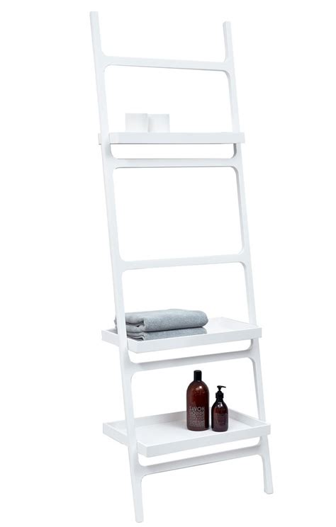 1000 ideas about bathroom ladder shelf on