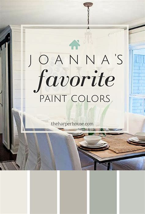 fixer paint colors joanna s 5 favorites the