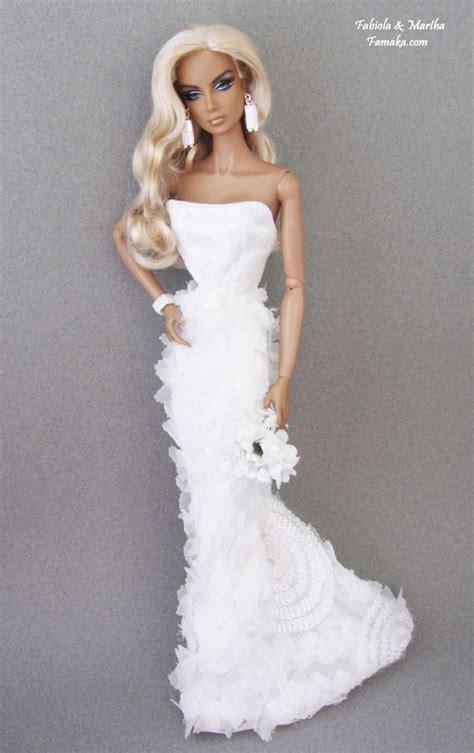 fashion royalty doll uk famaka fashion royalty silkstone bridal fashion